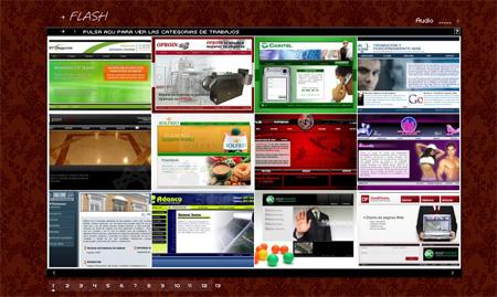Diseño Web En Flash - Uruguay