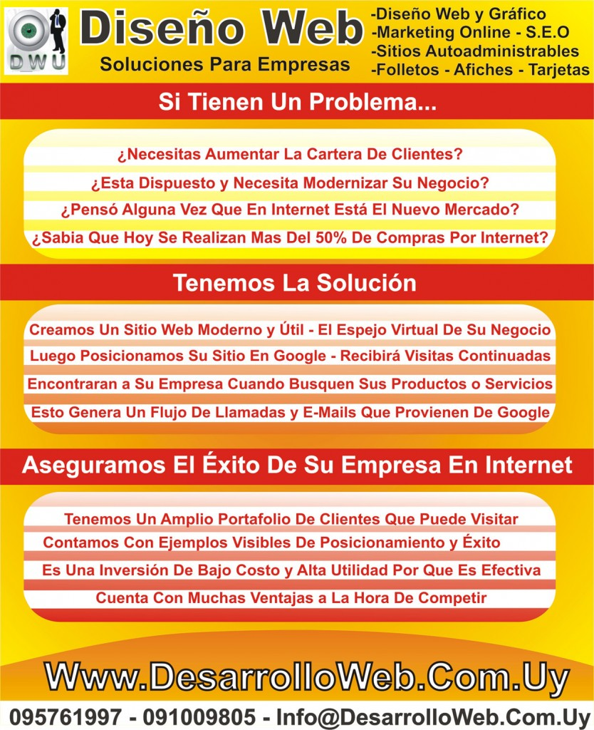 Diseño Web Soluciones Para Empresas